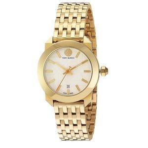 Tory Burch Metallic Gold Whitney Watch